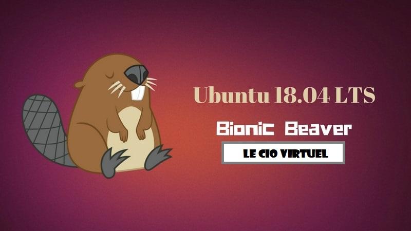Ubuntu 18-04 LTS Bionic Beaver